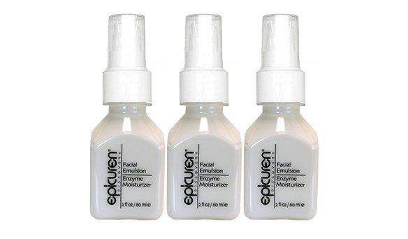 Epicuren Facial Emulsion Enzyme Moisturizer 4oz